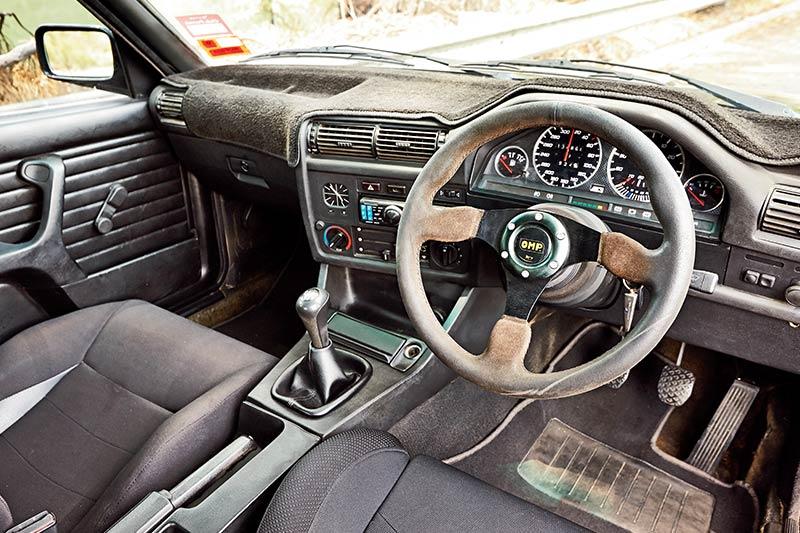 Bmw -e 30-m 3-interior