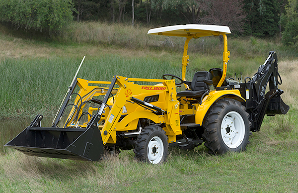 Review: East Wind DFS454 tractor