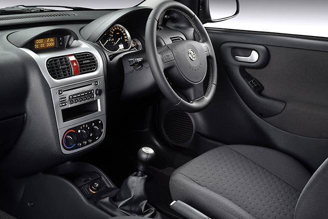 Holden -barina -interior