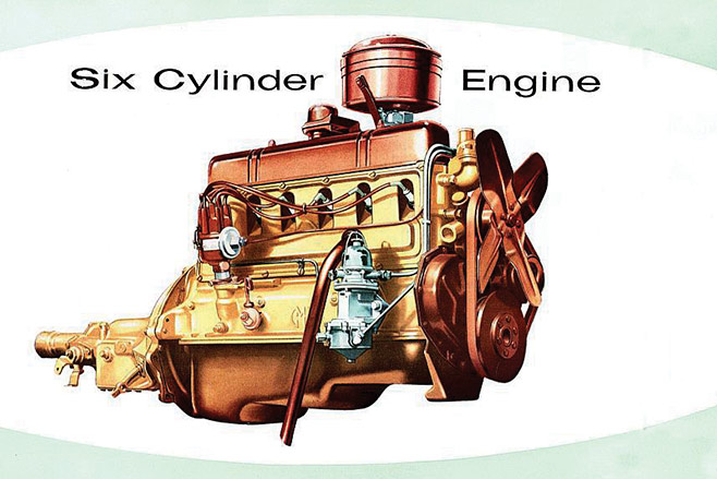 Six -cylinder -engine