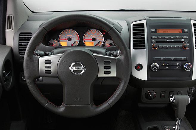Nissan -Xterra -interior