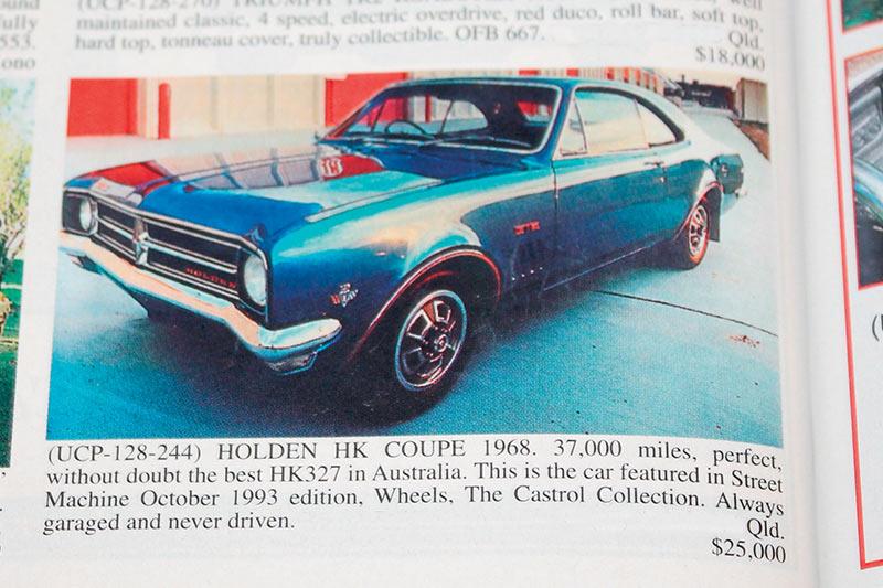 Holden -hk -gts -327
