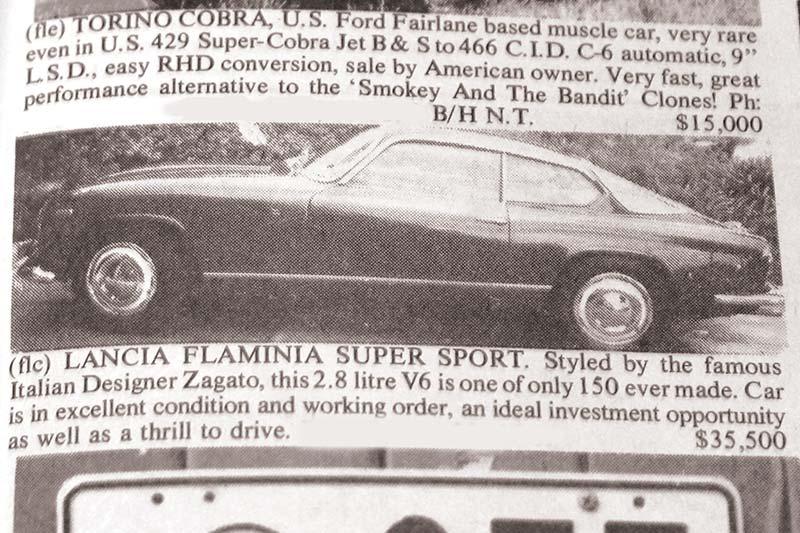 Holden HK GTS327 + Lambo Urraco + Lancia Flaminia - The Ones