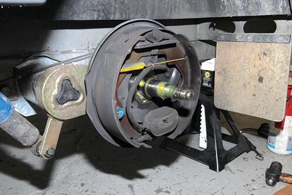 Caravan -brake -linings