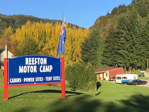 Reefton -motor -camp