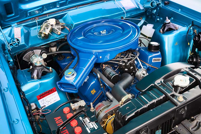 Ford -falcon -xy -engine -bay