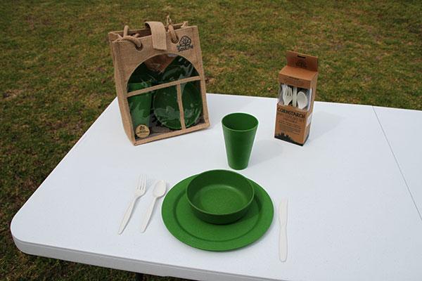 Ecosoulife -Bamboo -Picnic -Set