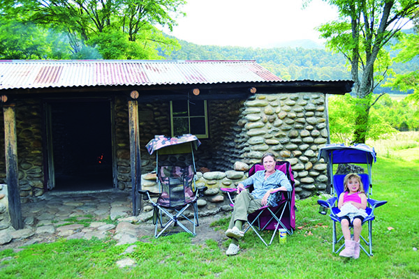 Top Riverside Campsites Keeble Huts