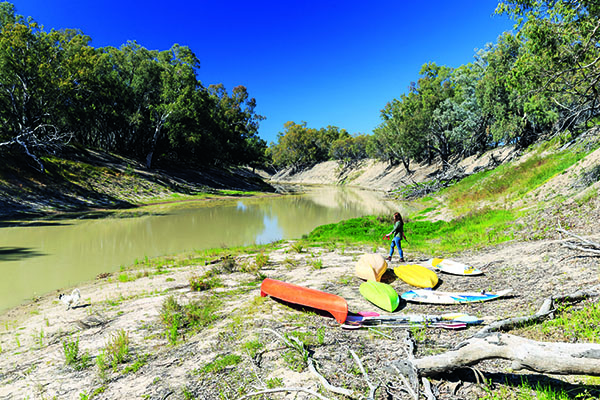 Top Riverside Campsites Darling River Run 2