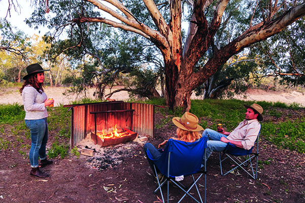 Top Riverside Campsites Darling River Run 1