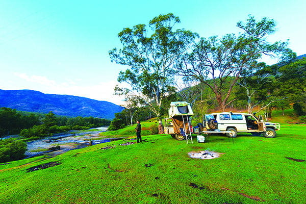 Top Riverside Campsites Georges Junction 1