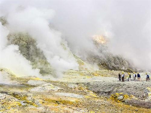 White -Island -Volcano