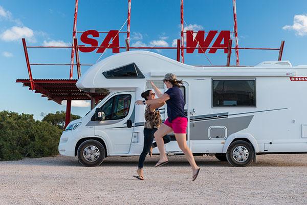SA-and -WA-border