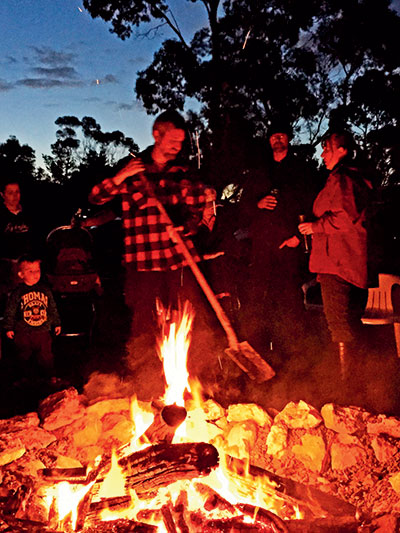 Group -of -people -around -the -campfire