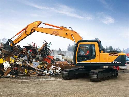 HYundai --excavator --4