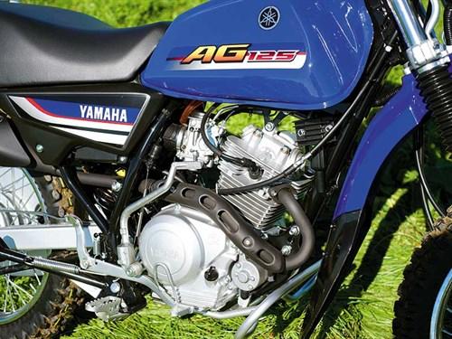 Yamaha -AG125-test -4