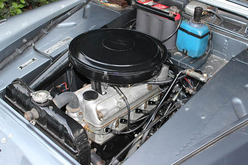 Borward -engine -bay
