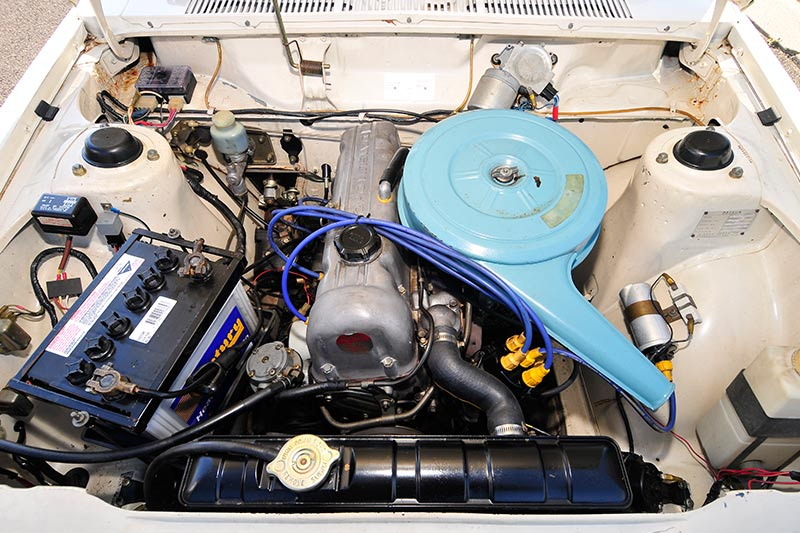 Datsun -engine -bay