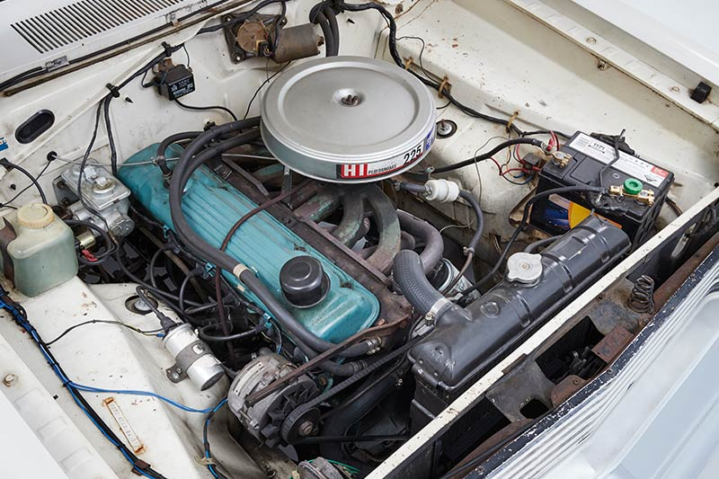 Chrysler -valiant -wagon -engine-