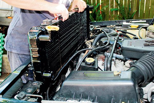 Replacing -radiator