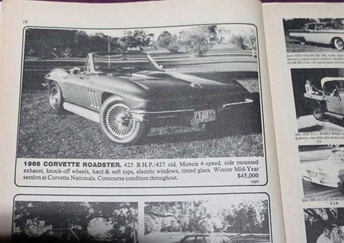 Corvette -roadster