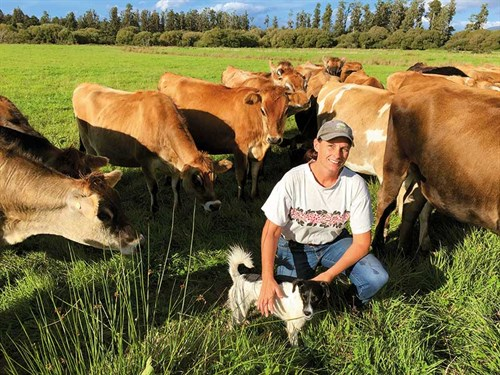 Fed Farmers Katie -and -heifers