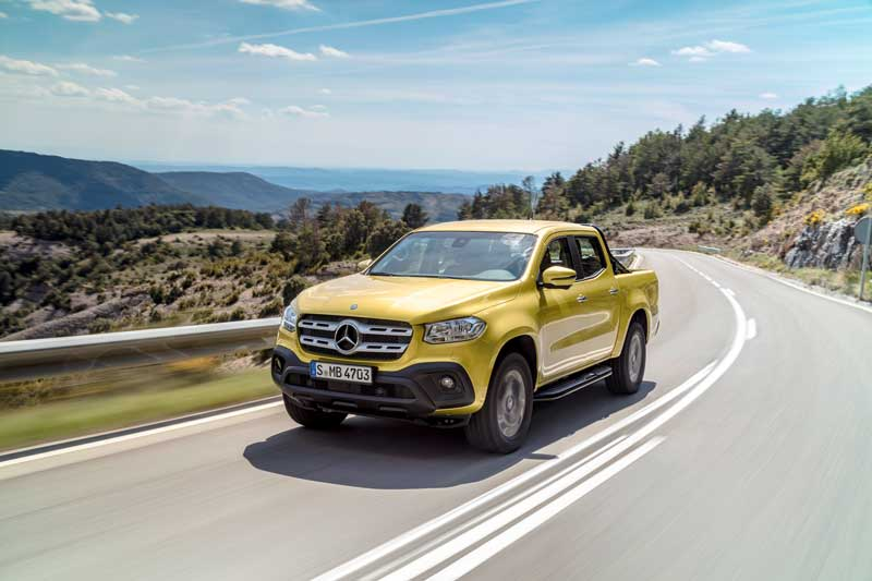 Mercedes-Benz X-Class ute Progressive model