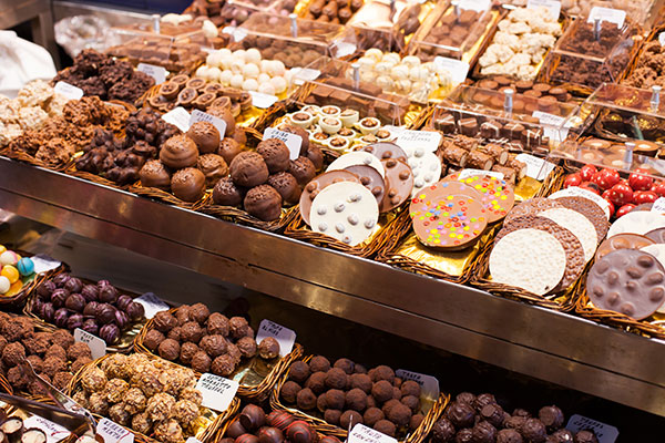 Chocolate -and -sweets -market