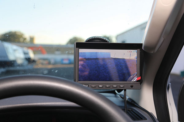 Screen -in -car -for -parking