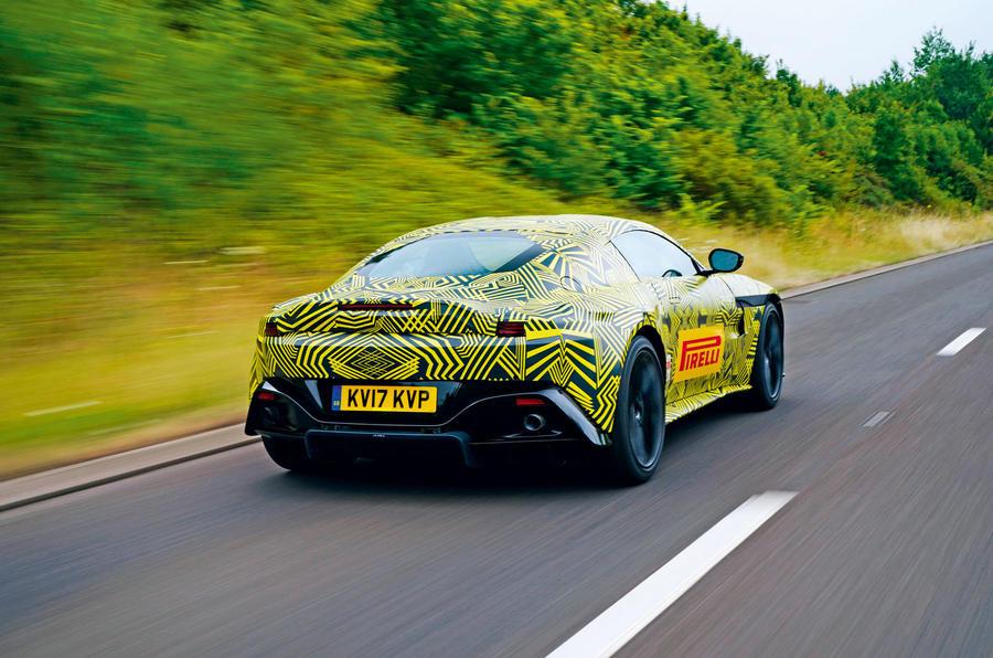2018 Aston Martin Vantage Spotted!