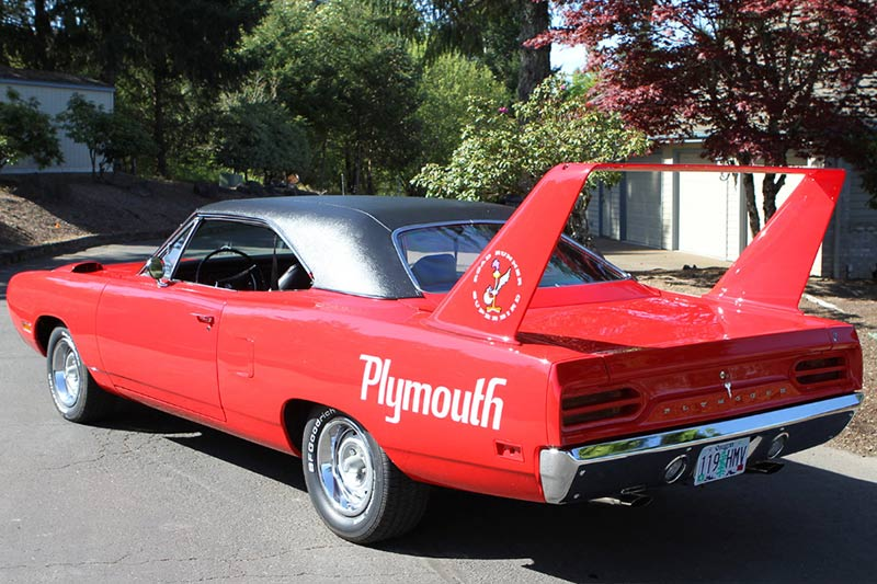 Plymouth -superbird -tribute