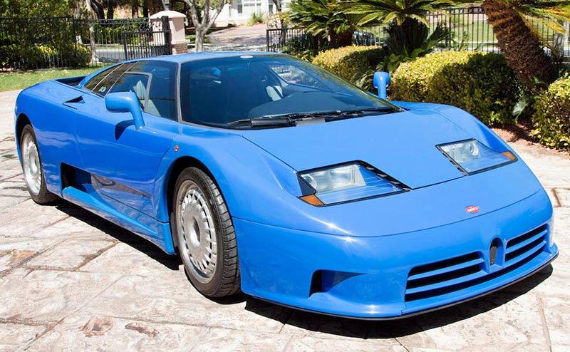 Bugatti -eb 110