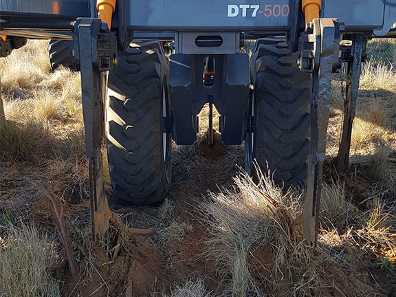 Paxton Plow Co DT7 rear