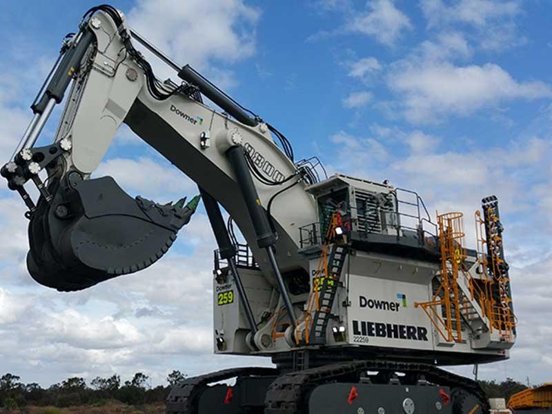 Liebherr -R9800-mining -excavator