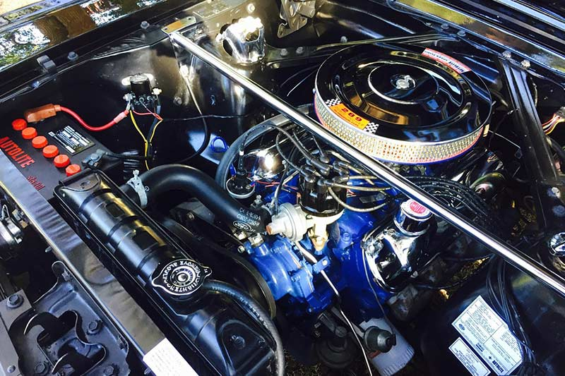 Ford -mustang -engine