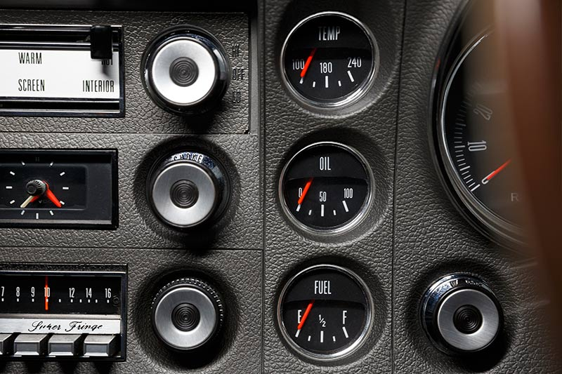 Ford -falcon -xw -gtho -dash