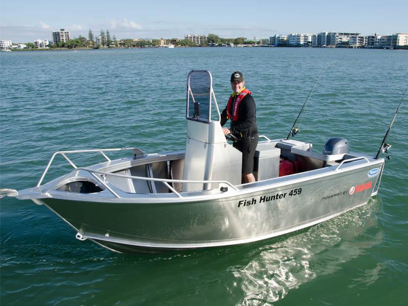 Stessco Fish Hunter 459 Front On