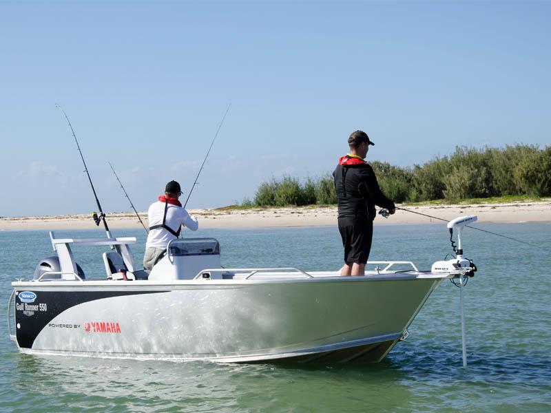 Stessco Gulf Runner 550 Fishing Casting