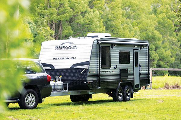 Kokoda -Platinum -Veteran -XLI-caravan