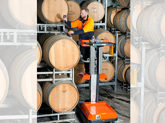 Brendan Hawker uses the Bravi Sprint EWP to check the barrels