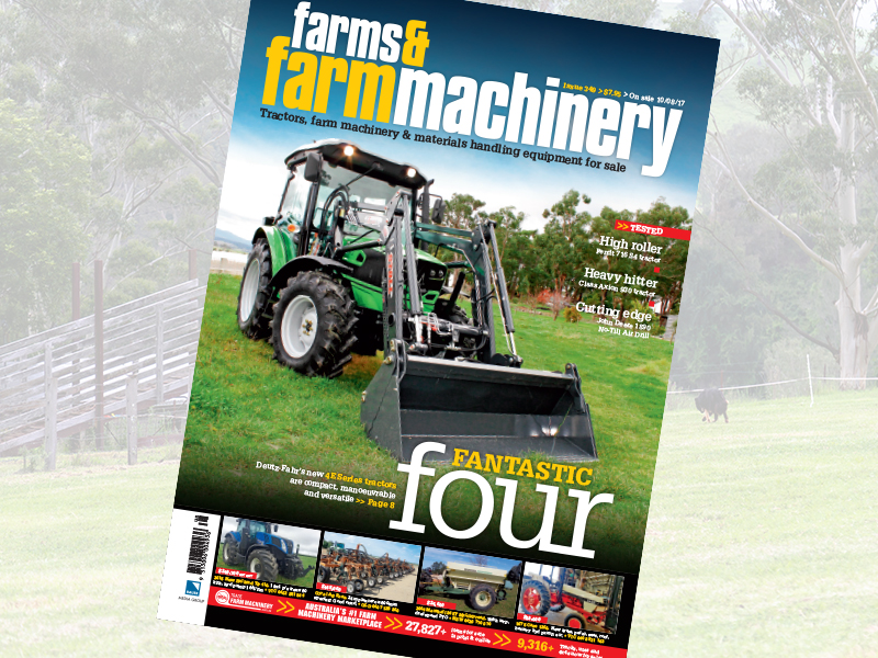 Farms & Farm Machinery magazine issue 349