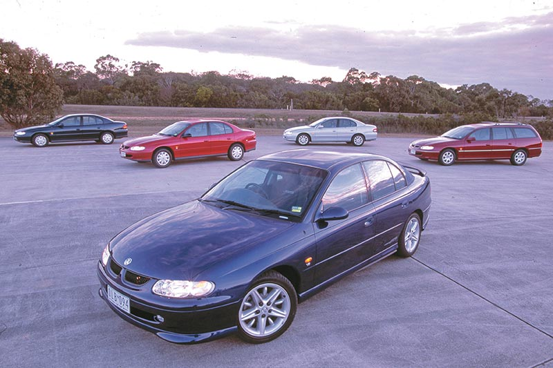 Holden -vt -commodore -models