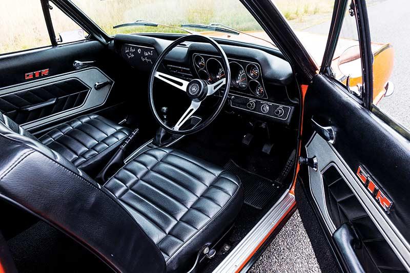 Holden -torana -gtr -interior