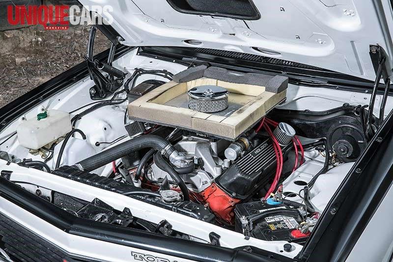 Holden Torana Ss Engine Bay -nw