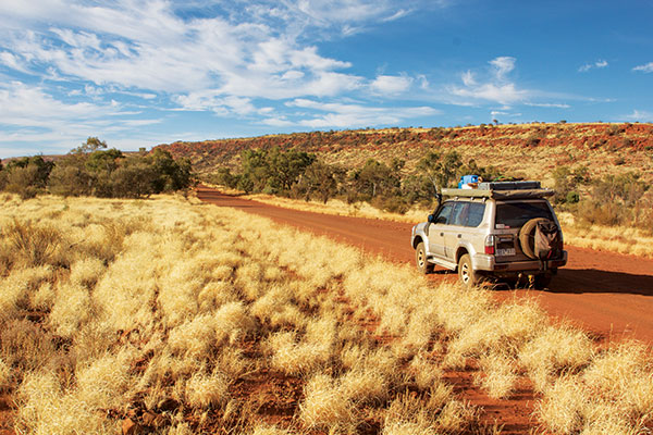 Driving -in -the -outback -in -Toyota -Prado