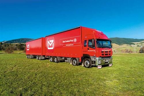 New -zealand -post -truck