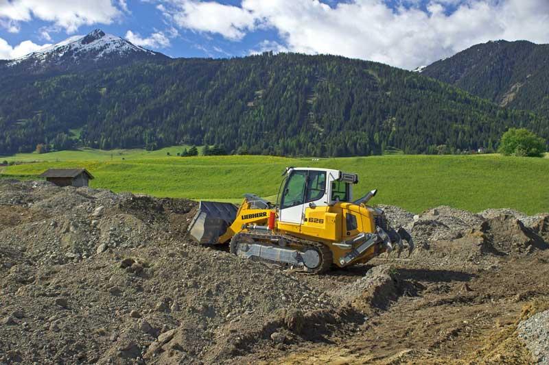 Liebherr -LR626-crawler -loader