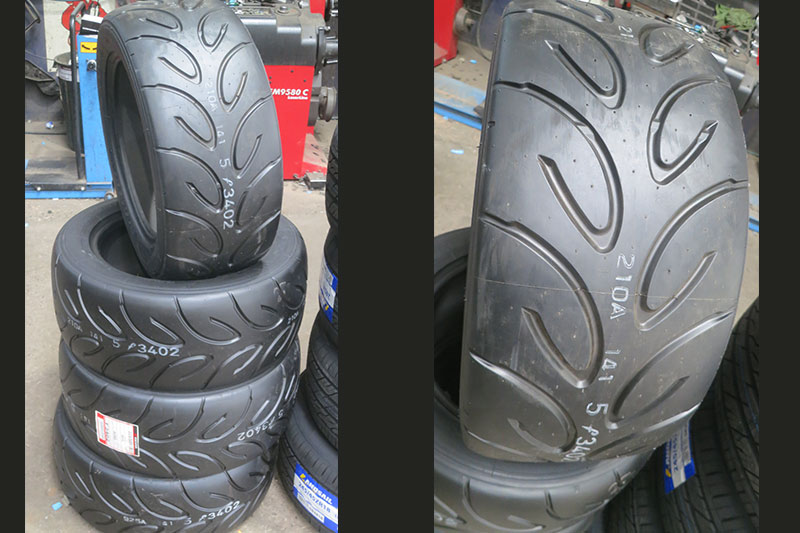 R -rated -tyres