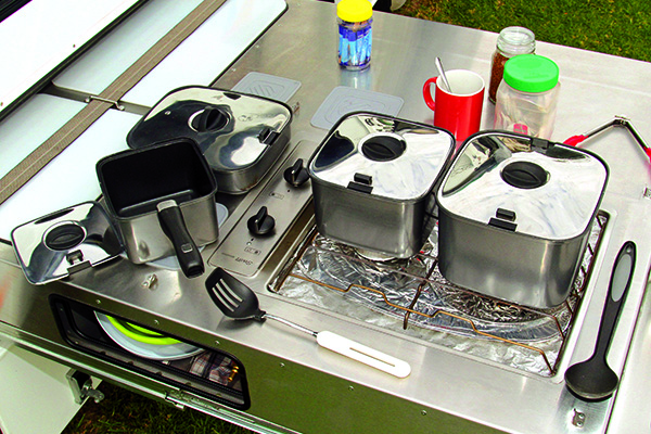 Latest And Greatest Camping Gear Smartspace Saucepan Set