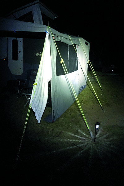 Latest And Greatest Camping Gear Reflective Awning Ropes